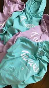 FAMOUS Script Lavender (Light Purple) Hoodie - Famous Club Clothing