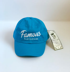Blue Dad Hat | Famous Club Clothing Streetwear Brand - Famous Club Clothing
