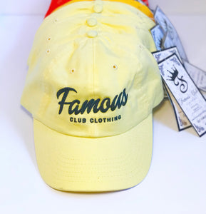 Banana Streetwear Dad Hat Famous Club Clothing - Famous Club Clothing