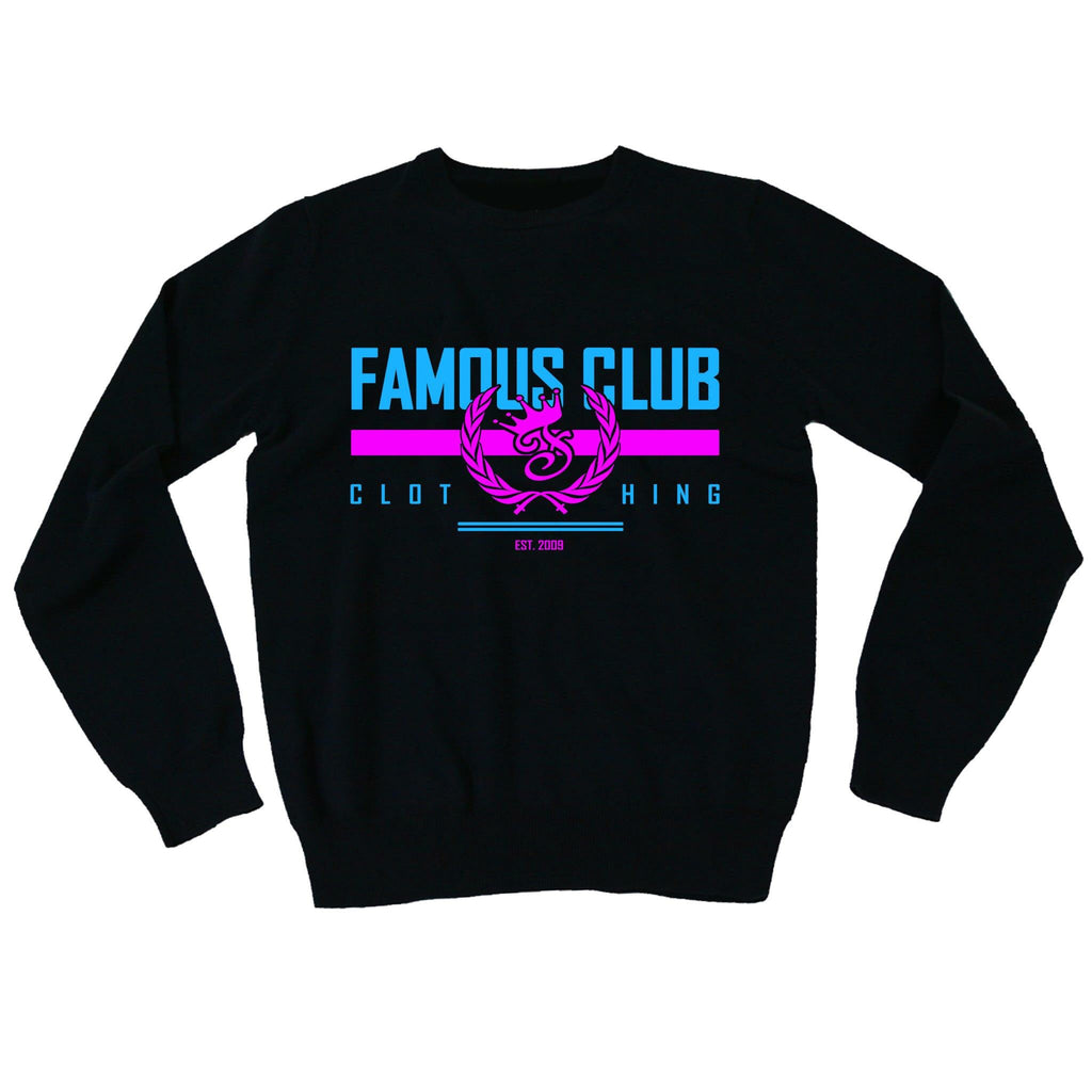 Miami Stamp Logo Sweatshirt - Famous Club Clothing