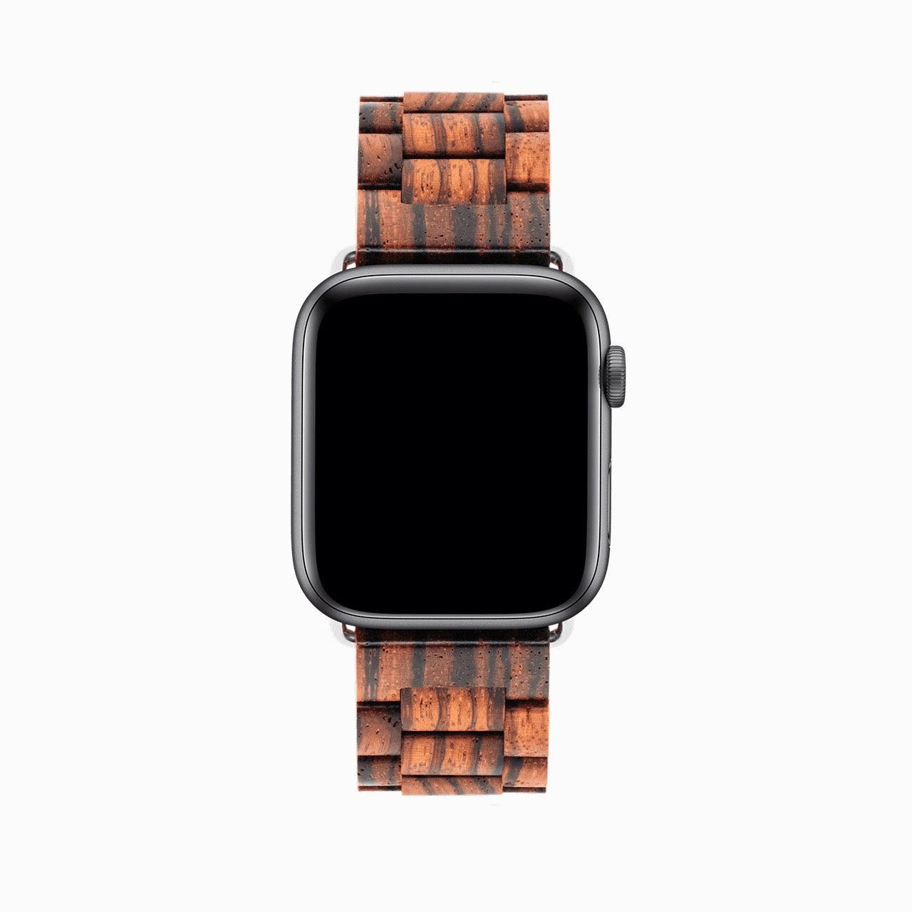 Bracelet Apple Watch en Bois