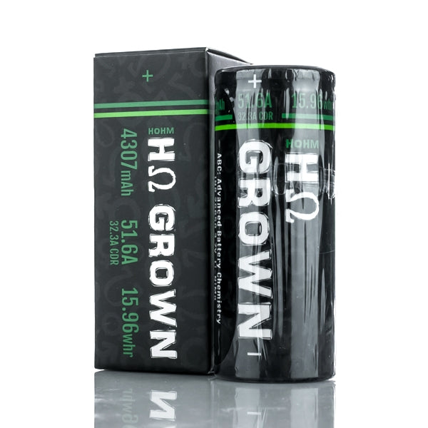 Hohm Grown 26650 Battery