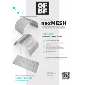 nexMesh 0.13 Ohm Mesh Strips