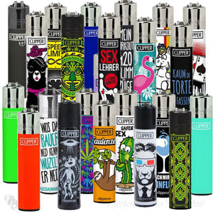 Assorted Clipper Lighters