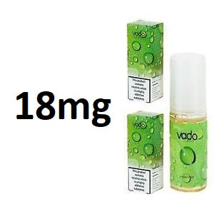 Vado 18mg E-liquid Range