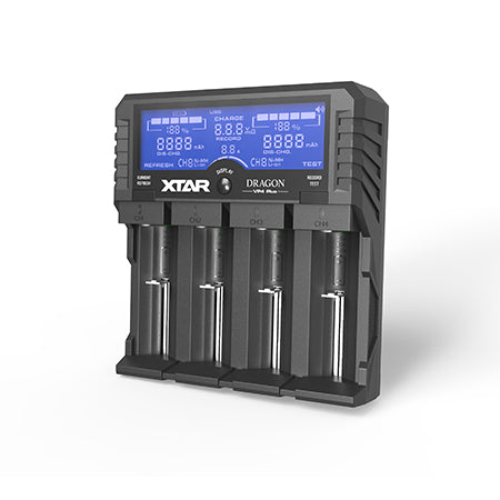 XTAR Dragon 4-Bay Battery Charger