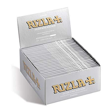Rizla+ Silver King Size Slim Rolling Papers