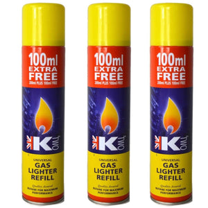 K Two Gas Lighter Refill