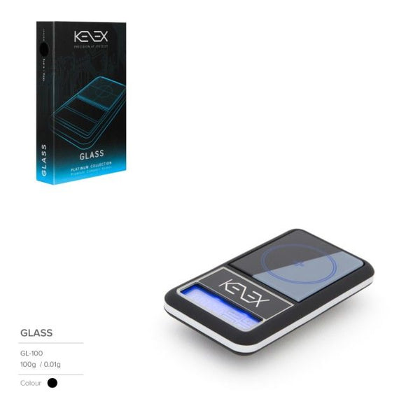 Glass Digital Precision Scales by Kenex