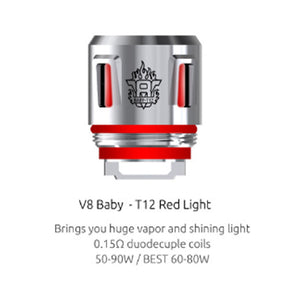 SMOK TFv8 Baby Light Up Replacement Coils