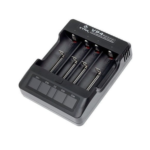 XTAR VP4 4-Bay Battery Charger