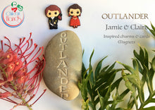 Jamie and Claire in France Magnets
