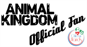 Animal Kingdom TNT car and laptop decals
