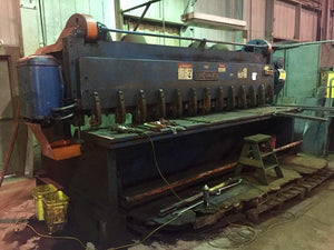 "Cincinnati 4312 1/2"" x 12ft Mechanical Shear"