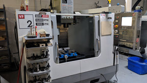 used haas vf-2d