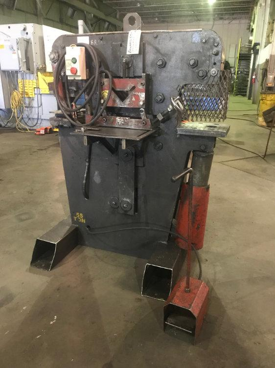 Edwards 55 Ton Hydraulic Ironworker