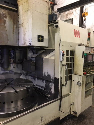 You JI YV-1000 | 2007 CNC Vertical Turret Lathe