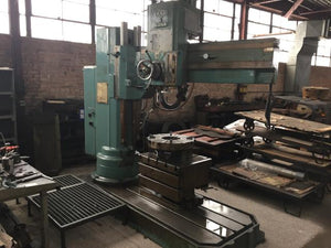 MAS model VR5A 5ft radial arm drill
