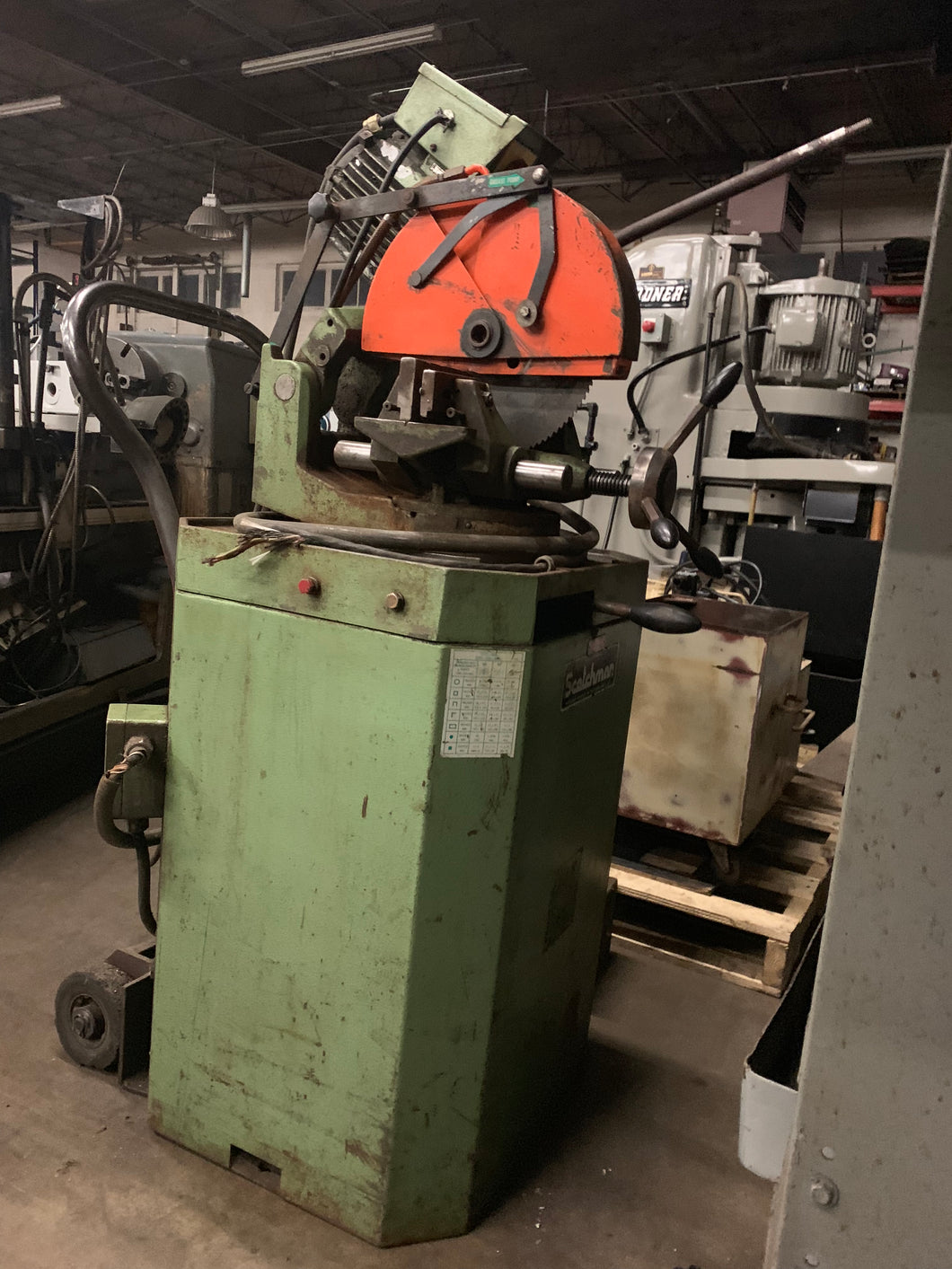 Scotchman CPO 350 HT 14in Cold Saw (3 Phase)
