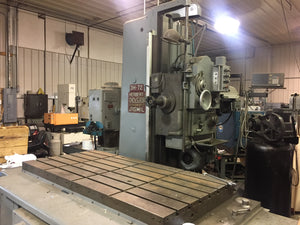 DeVlieg 3H-72 Jig Mill with 3-Axis DRO