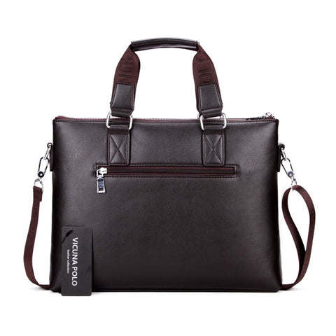 Mens Handbags For Laptop Perfect Quality Leather Briefcase Men Hot Sell Brand Male Office Bags