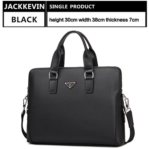 Men's Briefcase Leather Bag Messenger Bag Laptops Business Bag