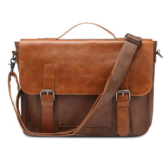 PU Leather Briefcase Men Messenger Bags Male Business Office Bag Lawyer Office Laptop Handbag