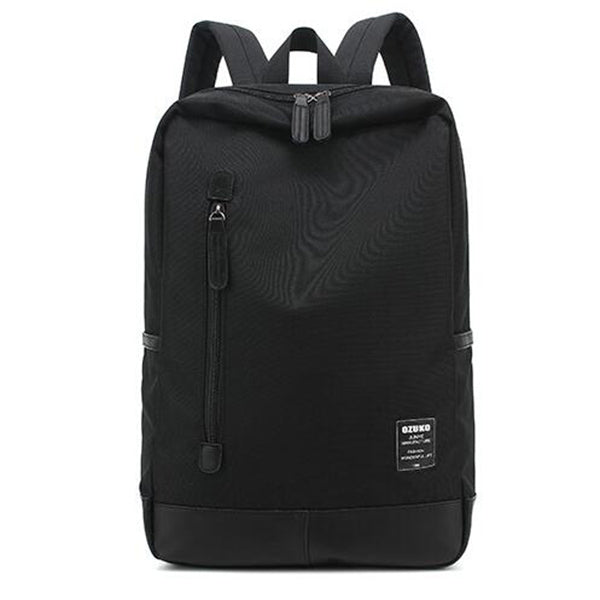 New Style Men's Canvas Backpack Fashion College Student Bag For Teenagers Male Laptop Bag