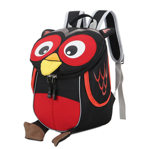 Cute Animal Owl Children Backpacks Kindergarten School Bag