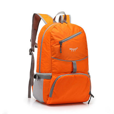 Nylon Folding Waterproof Backpack School Bag for Men