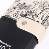 Fashionable Secret Garden Artwork Vintage Patchwork Wallet for Women