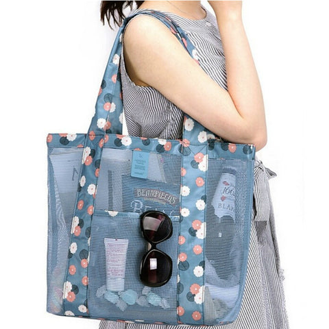 fashion ladies floral shoulder shopping bag women