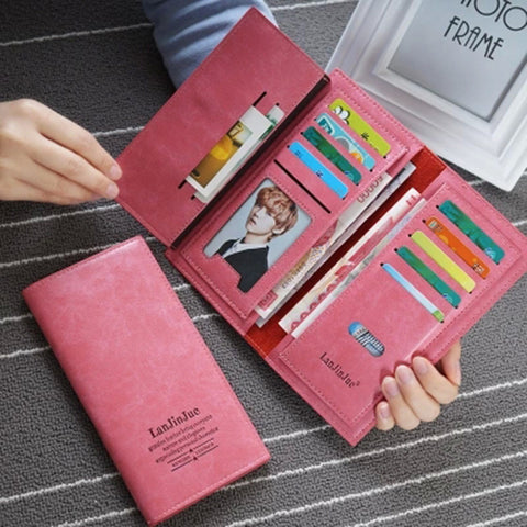 Sleek Modern Wallet for Women