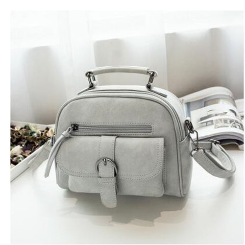 Matte Fresh Leather Classy Women Bag