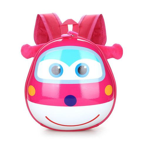Cartoon 3D Hard Shell Kindergarten Schoolbag Preschool Bags