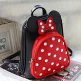 Lovely Dot Knot Cartoon School bag for kids