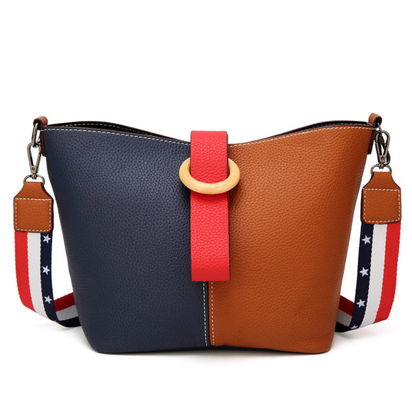 2pcs Women Leather Handbags Fashion Casual Women Totes Female Big Capacity Women Shoulder Bags