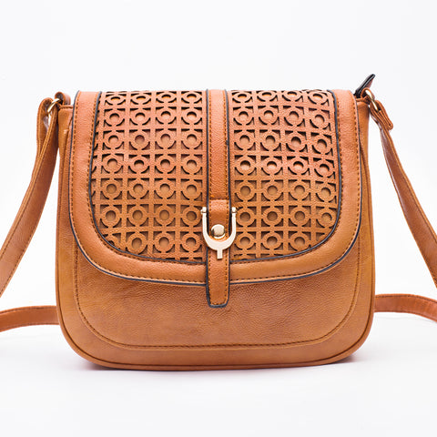 Designer Pu Leather Shoulder Bag