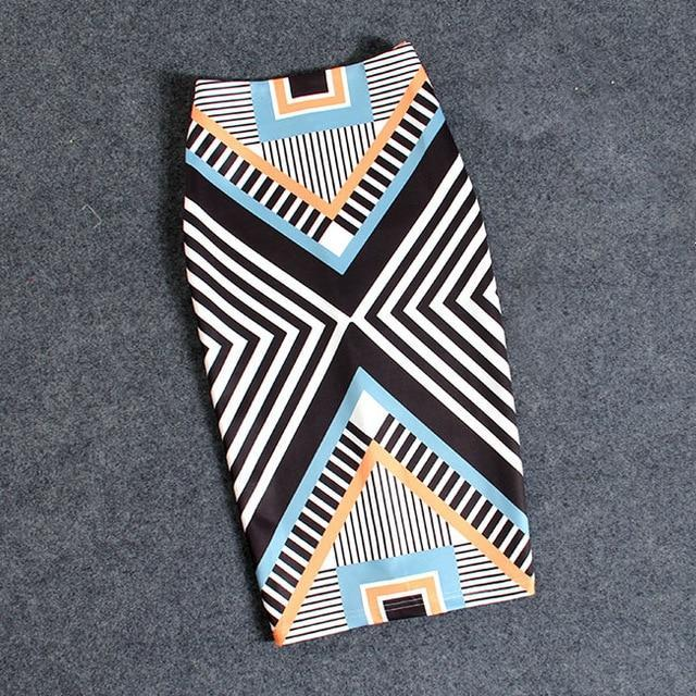 MIK Print Pencil Skirts - MiKlah
