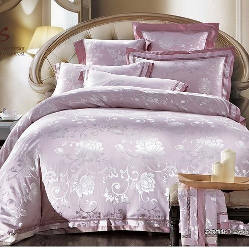 MIK Luxury Jacquard Duvet Cover Set - MiKlah