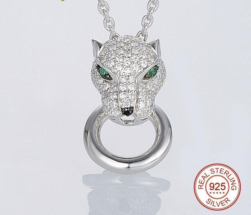 Panther 925 Sterling Silver Jewelry Set - MiKlah