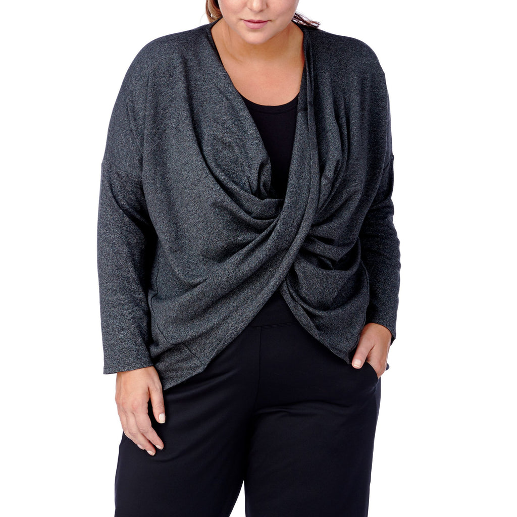 Magnolia Twist Plus Size Sweater - MiKlah