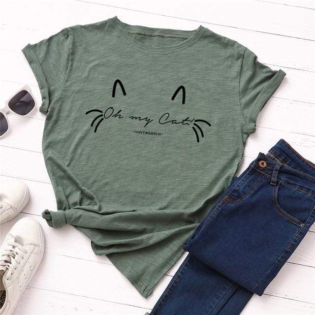 Oh My Cat T-Shirts - MiKlah