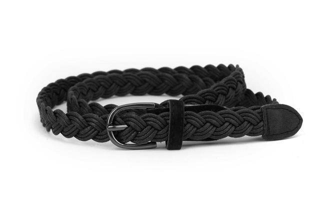 MIK Rope Braid Belt Female Belt For Dress - MiKlah