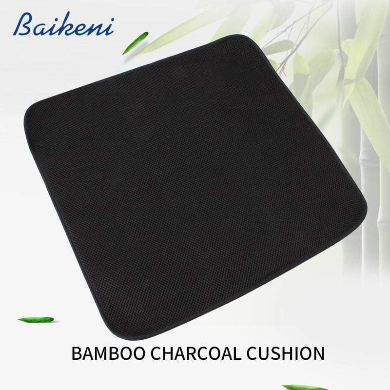 Bamboo Charcoal  Breathable Chair Cushion - MiKlah