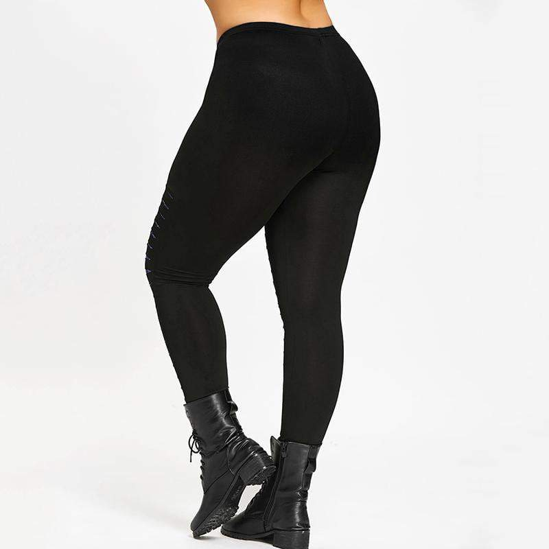 MIK  Ripped Leggings - MiKlah