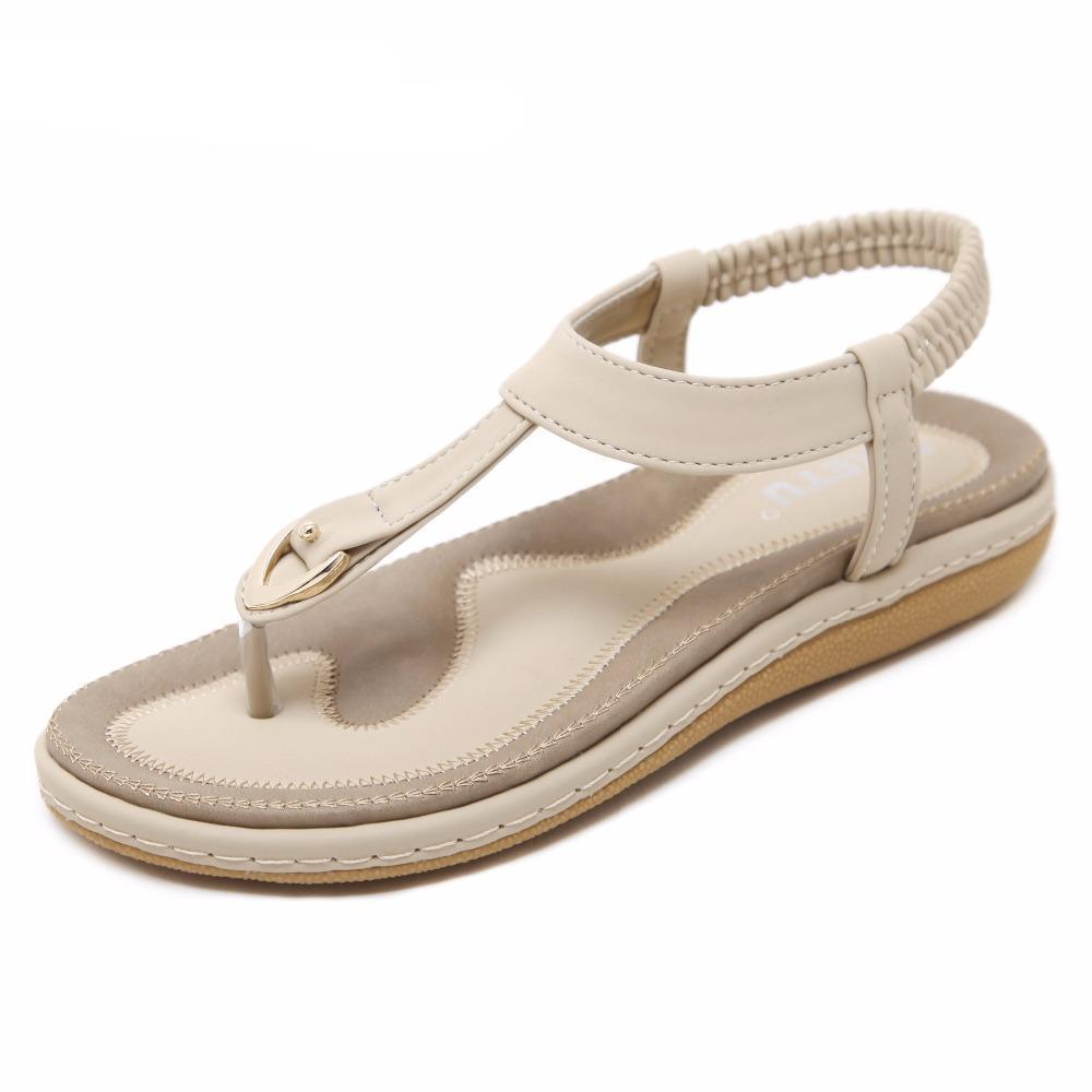 Emi  Buckle Sandals - MiKlah
