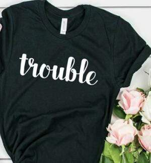 Double Trouble Besties T-Shirts - MiKlah