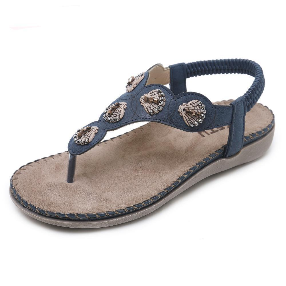 MIK Mia Casual String bead Sandals - MiKlah
