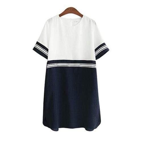 Marine Tunic Dress - MiKlah